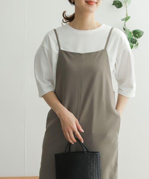 URBAN RESEARCH DOORS / アーバンリサーチ ドアーズ Tシャツ   TECHバルーンシルエットスリーブTシャツ   詳細16