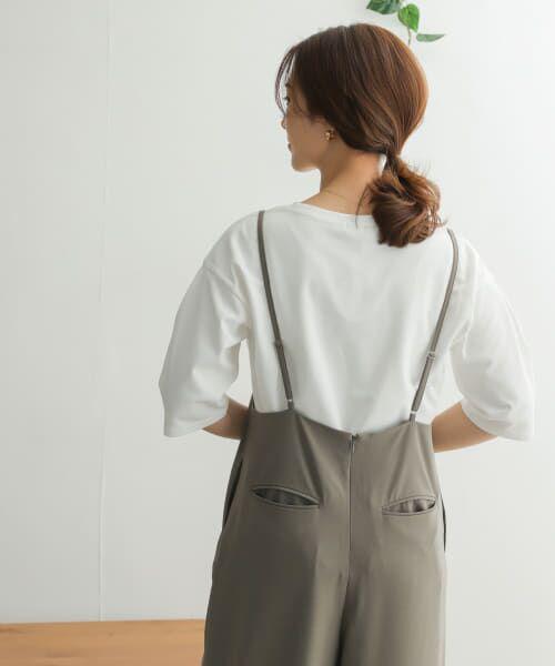 URBAN RESEARCH DOORS / アーバンリサーチ ドアーズ Tシャツ   TECHバルーンシルエットスリーブTシャツ   詳細17