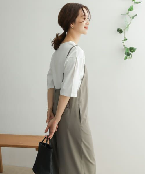 URBAN RESEARCH DOORS / アーバンリサーチ ドアーズ Tシャツ   TECHバルーンシルエットスリーブTシャツ   詳細18