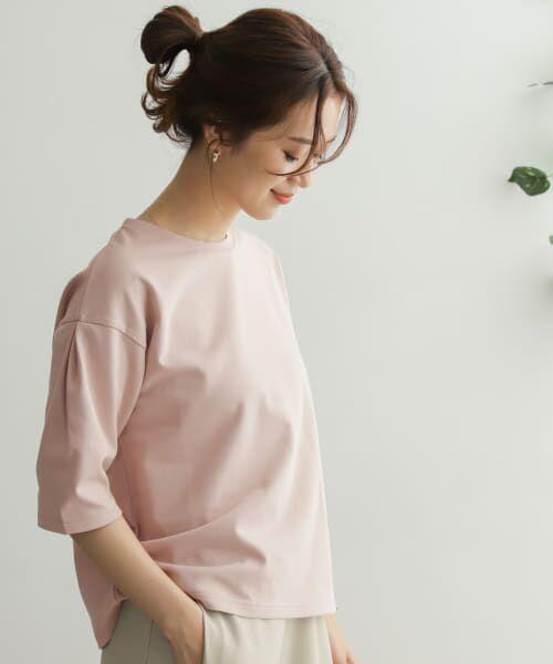 URBAN RESEARCH DOORS / アーバンリサーチ ドアーズ Tシャツ   TECHバルーンシルエットスリーブTシャツ   詳細2