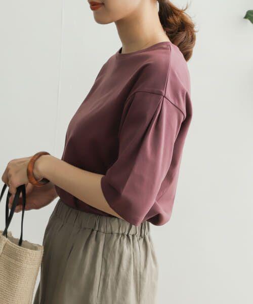 URBAN RESEARCH DOORS / アーバンリサーチ ドアーズ Tシャツ   TECHバルーンシルエットスリーブTシャツ   詳細21