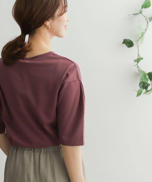 URBAN RESEARCH DOORS / アーバンリサーチ ドアーズ Tシャツ   TECHバルーンシルエットスリーブTシャツ   詳細23