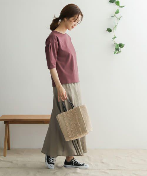 URBAN RESEARCH DOORS / アーバンリサーチ ドアーズ Tシャツ   TECHバルーンシルエットスリーブTシャツ   詳細25