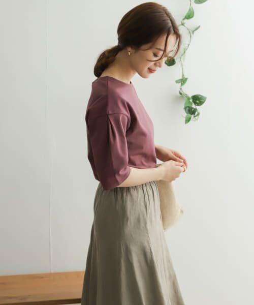 URBAN RESEARCH DOORS / アーバンリサーチ ドアーズ Tシャツ   TECHバルーンシルエットスリーブTシャツ   詳細27