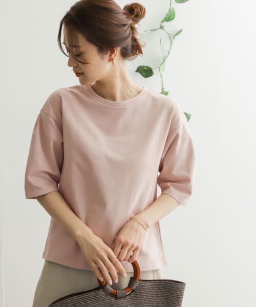 URBAN RESEARCH DOORS / アーバンリサーチ ドアーズ Tシャツ   TECHバルーンシルエットスリーブTシャツ   詳細4