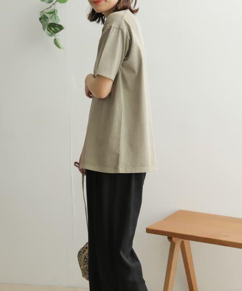 URBAN RESEARCH DOORS / アーバンリサーチ ドアーズ Tシャツ | オーガニックコットン半袖Tシャツ | 詳細20