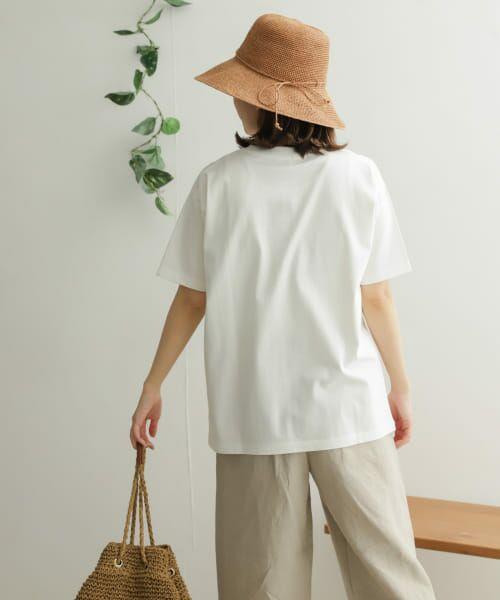 URBAN RESEARCH DOORS / アーバンリサーチ ドアーズ Tシャツ | オーガニックコットン半袖Tシャツ | 詳細4