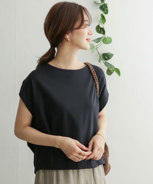 URBAN RESEARCH DOORS / アーバンリサーチ ドアーズ Tシャツ   コットンタックフレンチプルオーバー   詳細13