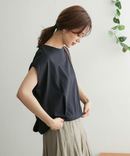 URBAN RESEARCH DOORS / アーバンリサーチ ドアーズ Tシャツ   コットンタックフレンチプルオーバー   詳細14