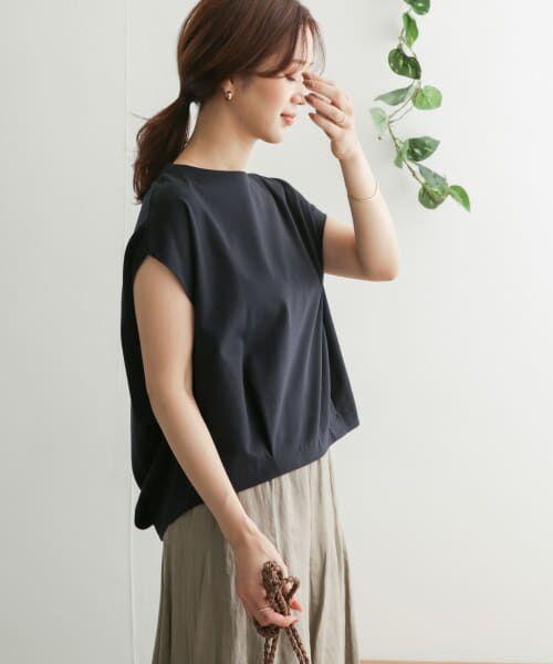 URBAN RESEARCH DOORS / アーバンリサーチ ドアーズ Tシャツ   コットンタックフレンチプルオーバー   詳細16