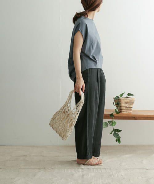 URBAN RESEARCH DOORS / アーバンリサーチ ドアーズ Tシャツ   コットンタックフレンチプルオーバー   詳細6