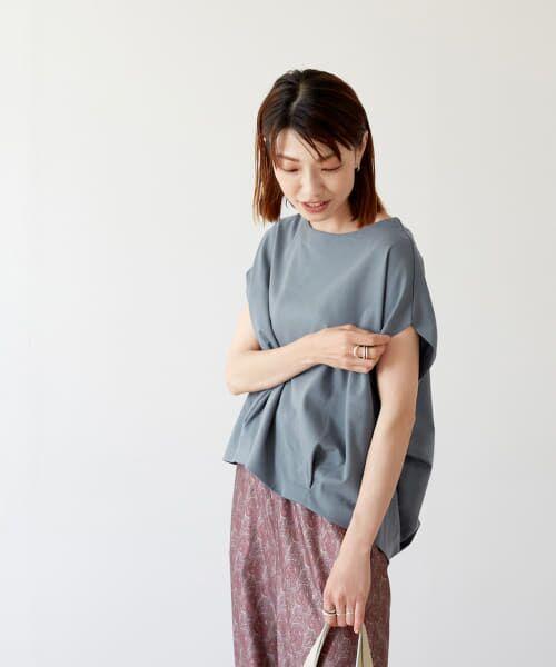 URBAN RESEARCH DOORS / アーバンリサーチ ドアーズ Tシャツ   コットンタックフレンチプルオーバー   詳細9