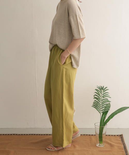 URBAN RESEARCH DOORS / アーバンリサーチ ドアーズ その他パンツ   テンセルリネンイージーパンツ   詳細5