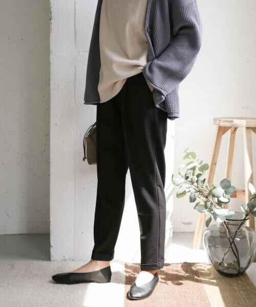 URBAN RESEARCH DOORS / アーバンリサーチ ドアーズ その他パンツ | ストレッチテーパードイージーパンツ | 詳細19