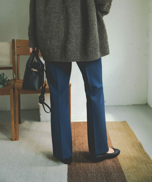 URBAN RESEARCH DOORS / アーバンリサーチ ドアーズ その他パンツ | ライトダブルクロスフレアイージーパンツ | 詳細6