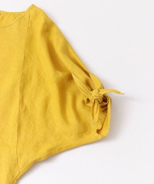 URBAN RESEARCH ROSSO / アーバンリサーチ ロッソ Tシャツ | 【予約】【UR ONLINE/タカシマヤファッションスクエア限定】リボンスリーブプルオーバー | 詳細8