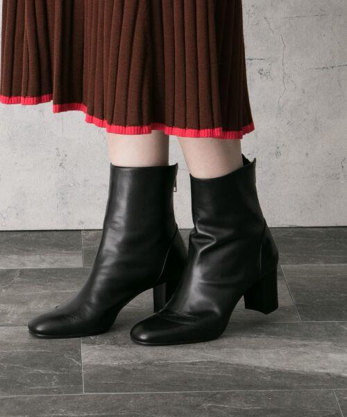 URBAN RESEARCH ROSSO / アーバンリサーチ ロッソ ブーツ(ショート丈) | 【Oggi掲載】ombre ミドルブーツ(BLACK)