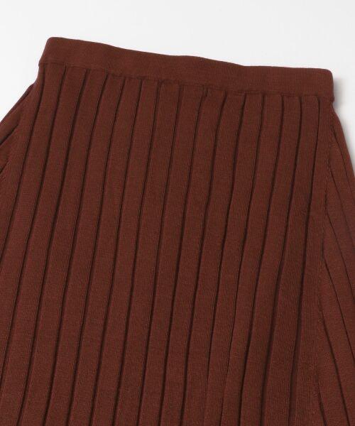 URBAN RESEARCH ROSSO / アーバンリサーチ ロッソ スカート   ワイドリブニットスカート   詳細15