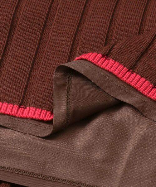URBAN RESEARCH ROSSO / アーバンリサーチ ロッソ スカート   ワイドリブニットスカート   詳細16