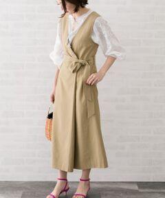 先行予約受付中!綺麗なIラインのシルエットが魅力のジャンパースカート