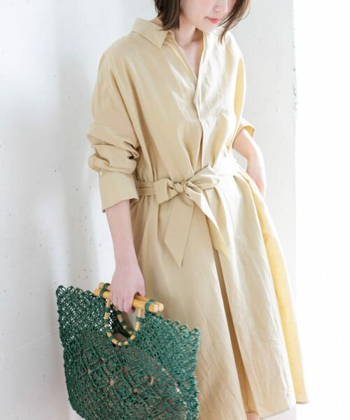 URBAN RESEARCH ROSSO / アーバンリサーチ ロッソ ワンピース | シャツワンピース(Y/BEIGE)