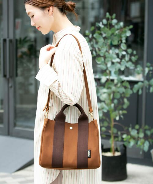 URBAN RESEARCH ROSSO / アーバンリサーチ ロッソ トートバッグ | VIOLAd'ORO GINO トート S(BROWN)