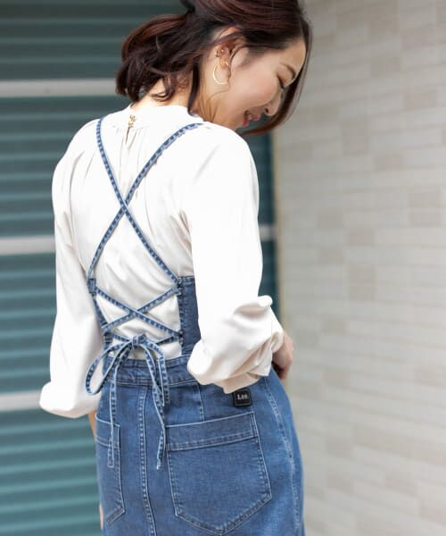 URBAN RESEARCH ROSSO / アーバンリサーチ ロッソ ワンピース | ROSSO×Lee <別注>JUMPER SKIRT | 詳細11