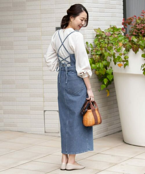URBAN RESEARCH ROSSO / アーバンリサーチ ロッソ ワンピース | ROSSO×Lee <別注>JUMPER SKIRT | 詳細17
