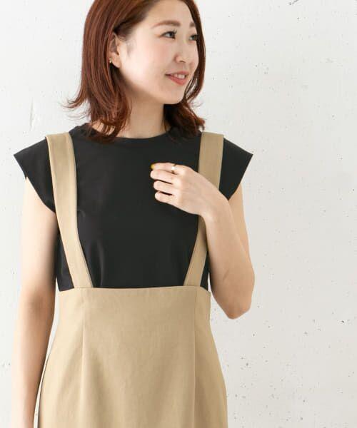 URBAN RESEARCH ROSSO / アーバンリサーチ ロッソ Tシャツ | フレンチTシャツ(BLACK)