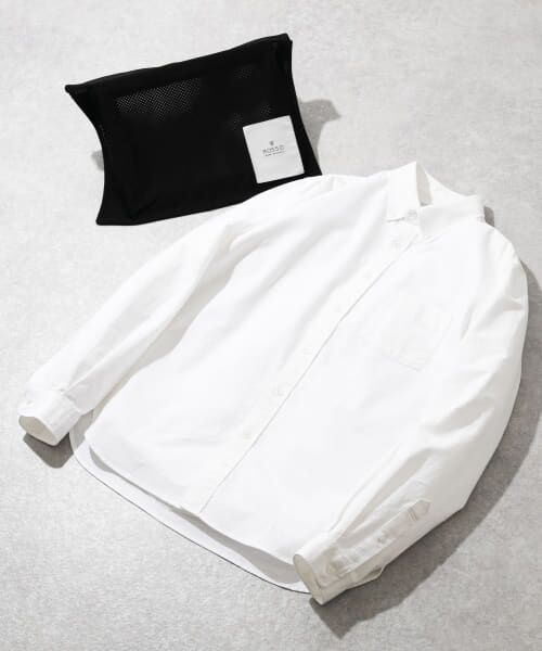 URBAN RESEARCH ROSSO / アーバンリサーチ ロッソ シャツ・ブラウス | 【WEB限定】ハイパフォーマンスオックスボタンダウンシャツ(WHITE)