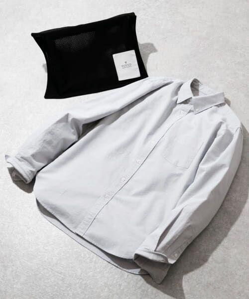 URBAN RESEARCH ROSSO / アーバンリサーチ ロッソ シャツ・ブラウス | 【WEB限定】ハイパフォーマンスオックスボタンダウンシャツ(GRAY)