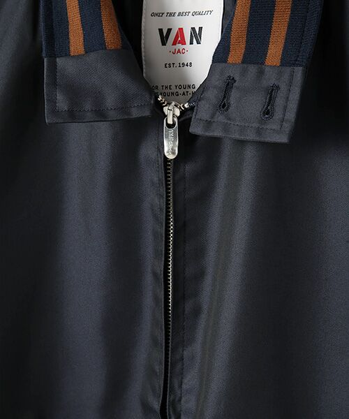VAN / ヴァン ブルゾン | リブラインブルゾン | 詳細1