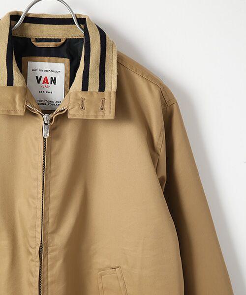 VAN / ヴァン ブルゾン | リブラインブルゾン | 詳細3