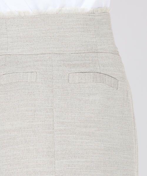 vega / ベガ ロング・マキシ丈スカート | 【洗濯機可能】ドットボタンロングタイトスカート | 詳細4