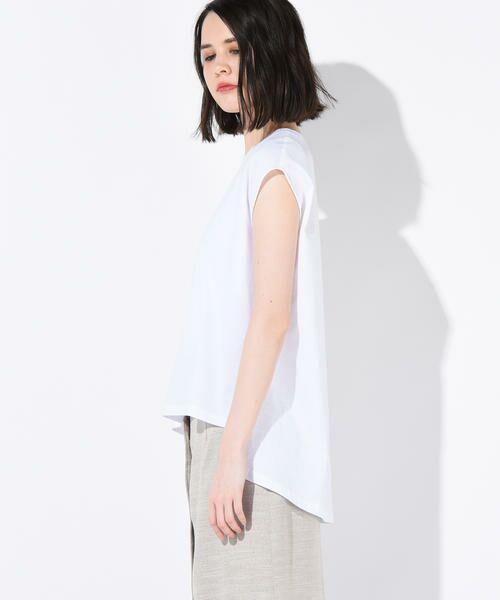 vega / ベガ カットソー | 【洗濯機可能】クールノースリーブTシャツ | 詳細1