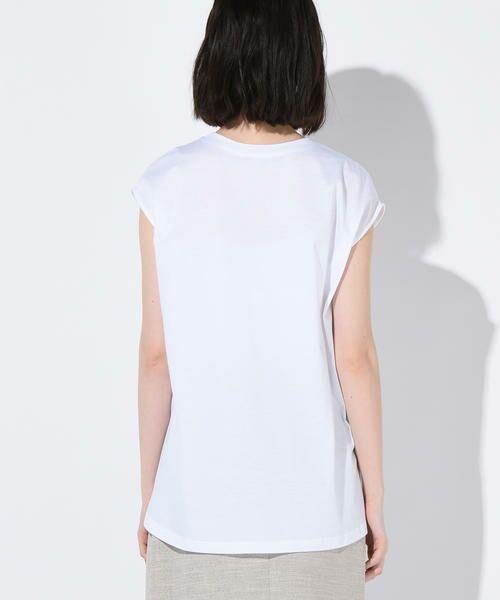 vega / ベガ カットソー | 【洗濯機可能】クールノースリーブTシャツ | 詳細2