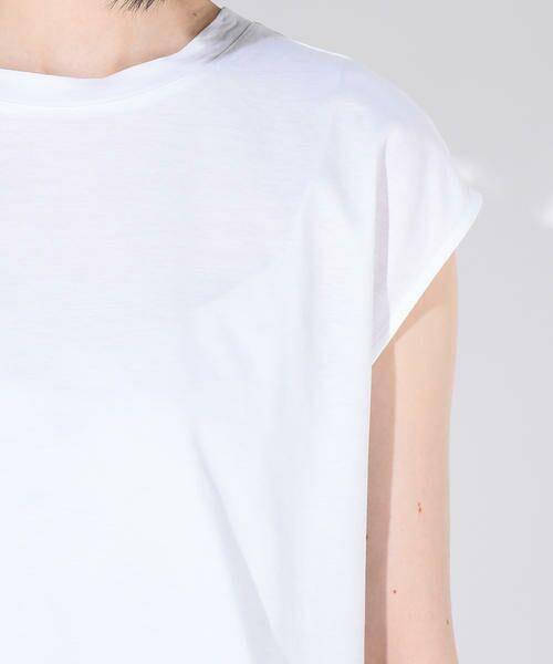 vega / ベガ カットソー | 【洗濯機可能】クールノースリーブTシャツ | 詳細3