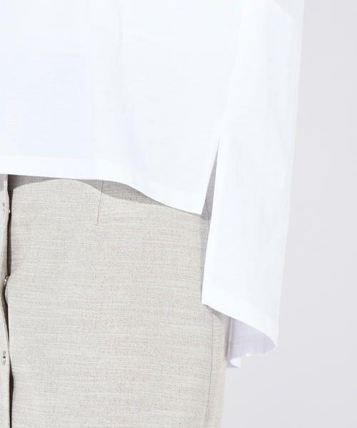 vega / ベガ カットソー | 【洗濯機可能】クールノースリーブTシャツ | 詳細5