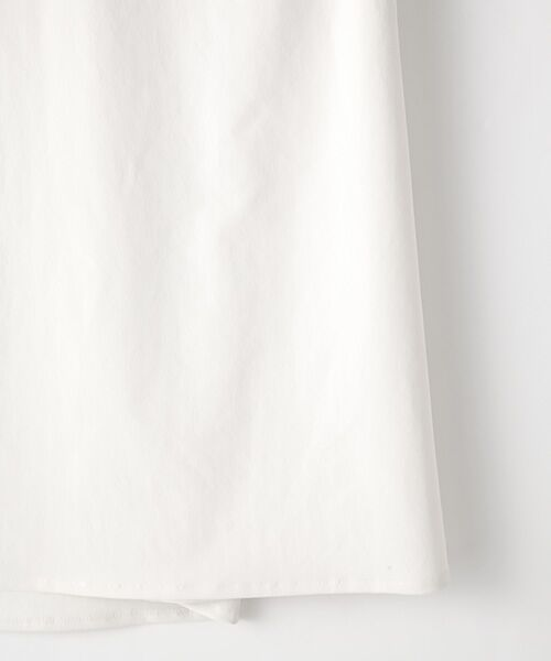 Verseau / ヴェルソー シャツ・ブラウス | {洗える 吸水速乾 接触冷感 紫外線防止 透け防止}前後2WAYボウタイ付きAライントップス | 詳細3