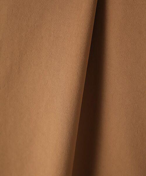 Verseau / ヴェルソー スラックス・ドレスパンツ   {洗える 吸水速乾 接触冷感 紫外線防止 透け防止}ワンタックワイドイージーパンツ   詳細6
