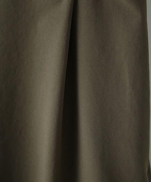 Verseau / ヴェルソー スラックス・ドレスパンツ   {洗える 吸水速乾 接触冷感 紫外線防止 透け防止}ワンタックワイドイージーパンツ   詳細2