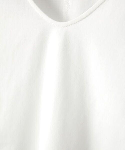 Verseau / ヴェルソー カットソー | {洗える}ベーシックデザインTシャツ | 詳細1