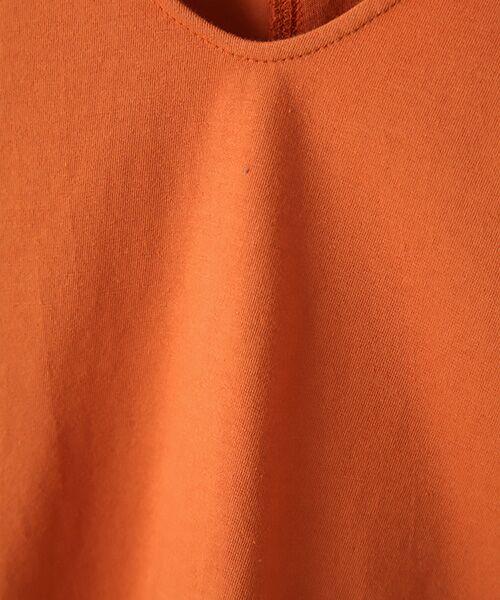 Verseau / ヴェルソー カットソー | {洗える}ベーシックデザインTシャツ | 詳細2