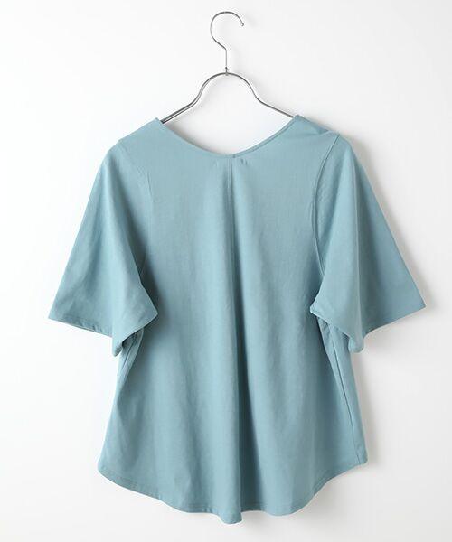 Verseau / ヴェルソー カットソー | {洗える}ベーシックデザインTシャツ | 詳細3