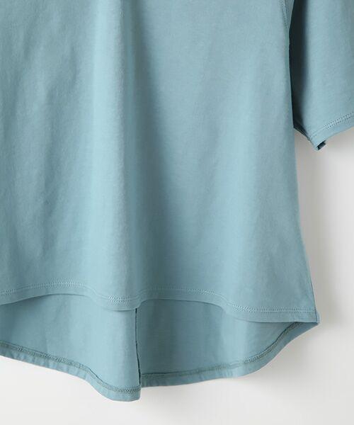 Verseau / ヴェルソー カットソー | {洗える}ベーシックデザインTシャツ | 詳細5