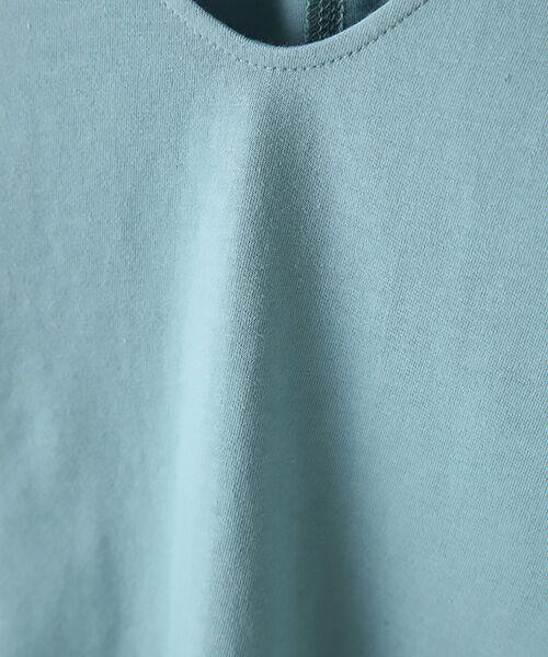 Verseau / ヴェルソー カットソー | {洗える}ベーシックデザインTシャツ | 詳細6