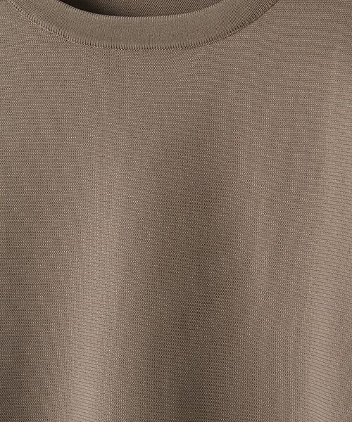 Verseau / ヴェルソー ニット・セーター | エステル サイドスリットニットT | 詳細2