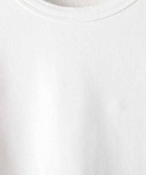 Verseau / ヴェルソー スウェット | WHITE LINE {洗える} 抗ウイルス クレンゼ 裏毛 ロンT | 詳細2