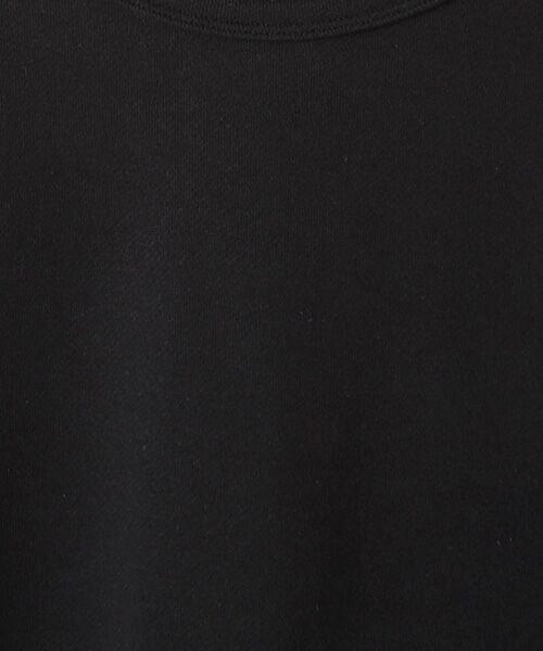Verseau / ヴェルソー スウェット | WHITE LINE {洗える} 抗ウイルス クレンゼ 裏毛 ロンT | 詳細4