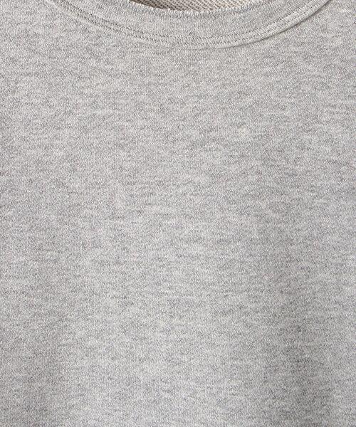 Verseau / ヴェルソー スウェット | WHITE LINE {洗える} 抗ウイルス クレンゼ 裏毛 ロンT | 詳細9